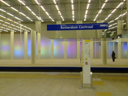 Metro Rotterdam CS